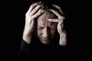 Trauma EMDR, Stressed Man
